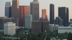 Los Angeles WK 07 Blur out and in Stock Footage