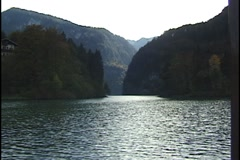 Konigssee Lake in Bavaria Germany Stock Footage