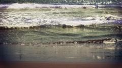Mediterranean beach waikiki Stock Footage