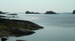 Swedish archipelago Stock Footage