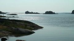 Swedish archipelago - stock footage