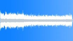 Potato harvester starting, running, stopping. (Inside machine) Sound Effect
