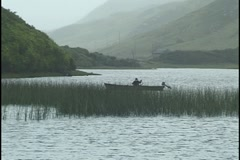Connemara, Ireland, Fishing Stock Footage