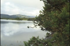 Killarney Lakes, County Kerry, Ireland Stock Footage