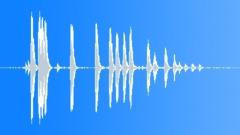 Knock ondoor, dog barks, door closed. - sound effect
