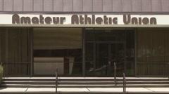 Amateur Athletic Union (AAU) headquarters Stock Footage