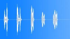 Five finger whistles. Sound Effect