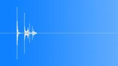 Crash: Wine Glass, dropped but not broken. - sound effect