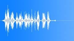 Exterior cascade of glass (84H) - sound effect
