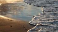 Golden sands. Stock Footage