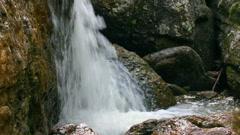 Waterfall Kukrauk in Russia, Ural Stock Footage