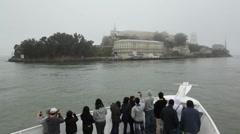 Alcatraz Approach 05  HD Stock Footage