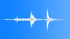 Stock Sound Effects of Inner and outer metal lift gates opened. (Reverberation)