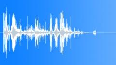 Metal cascade. Sound Effect