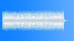 Machine gun rhythm, slow. - sound effect