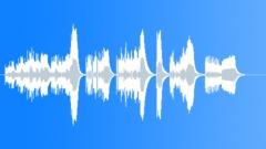 Machine gun rhythm, rapid prolonged bursts. Sound Effect