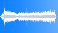 Touchdown & taxi - interior (prop-jet airliner). - sound effect