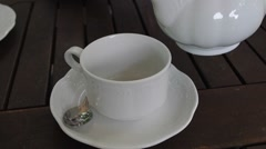 Tea time. Stock Footage