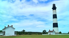 Bodie island lighthouse 02 Stock Footage