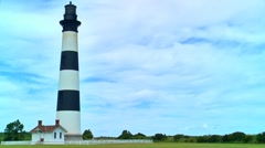 Bodie island lighthouse 03 Stock Footage