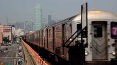 New york subway Stock Footage