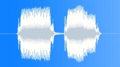 Exterior, klaxon sounded twice. (Riley 9 h.p. saloon, 1929 model) - sound effect