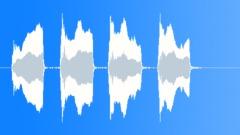 Whitby Lighthouse's Foghorn sounding. (Elliptical horn, c.1950s.) (Close Sound Effect