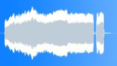 Drifter's siren, one long blast. - sound effect