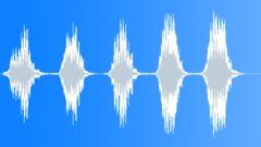 World War II Air Raid Siren, Italian, alert sounded. Sound Effect