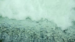 Rushing Water Wide 1 SM 1280x720p 23.976fps Photo Jpeg Stock Footage
