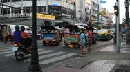 Stock Video Footage of Thailand Bangkok Khaosan road