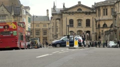 Broad Street Oxford Stock Footage