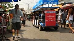 Thailand Bangkok Lifestyle Stock Footage