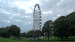 The Wheel at Plymouth Stock Footage