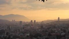 Sarajevo long-shot. 5 Stock Footage