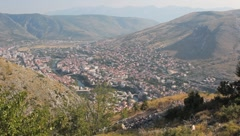 Mostar long-shot. 2 Stock Footage