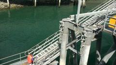 Dock worker Stock Footage