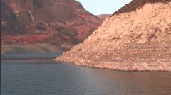 Lake Mead Kingman Wash Stock Footage