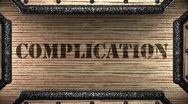 Stock Video Footage of complication on wooden stamp