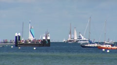 Sailing Race Kiel 2 Stock Footage