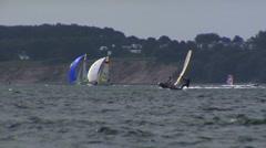 Sailing Race Kiel 1 Stock Footage