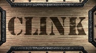 Stock Video Footage of clink on wooden stamp
