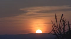 Stock Video Footage of Beautiful sunset