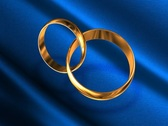 Stock Video Footage of Wedding rings