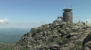 Stock Video Footage of Mount Whiteface in Adirondack Mountains