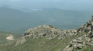 Adirondack Mountains viewed from the Top of Whiteface Stock Footage