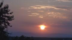 Beautiful sunset - stock footage