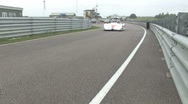 Stock Video Footage of Radical race car in pitlane