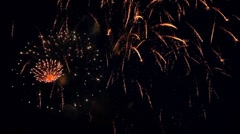 Firework. Stock Footage