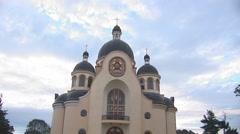 Greek catholic church 2 Stock Footage